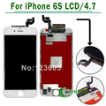 3 UNIDS/LOTE Ningún Pixel Muerto ForiPhone 6 S Pantalla LCD Con Pantalla Táctil Digitalizador Asamblea Envío Gratis