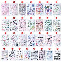 Уф смолы эпоксидной смолы Ремесла материалы наполнитель стикер цветочный Красочный прозрачный кристалл животных украшения в форме ландшафта делая инструменты