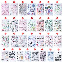 Jewelry-Making-Tools Filler-Sticker Materials Crystal Animal-Landscape Epoxy-Resin Crafts