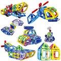 70 pçs/set 2017 Designer De Brinquedos Educativos Blocos De Construção Da Polícia Aviões da Série Magnética Montar Tijolos Brinquedos Infantis Presentes BL162