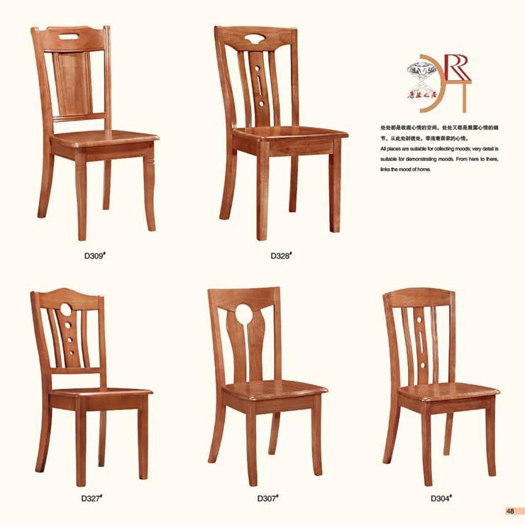 Sillas de madera para comedor affordable silla madera de for Modelos de sillas de madera para comedor