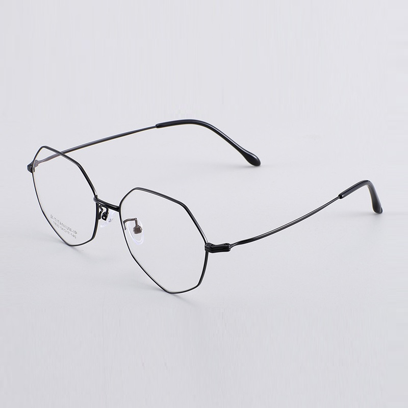 width 138 Irregular Reticular Frames Eyewear Glasses For Women Fashion Titanium Opitcal large Frame Eyeglasses Frame Eyewear new in Women 39 s Eyewear Frames from Apparel Accessories
