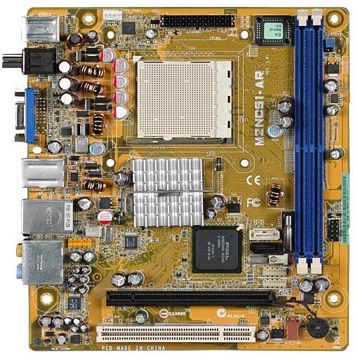 ФОТО Used original for ASUS (OEM) C51 for HP M2NC51-AR HematiteXL-GL8E.ITX AM2 DDR2