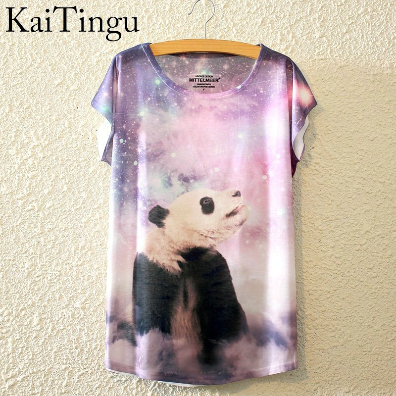 HTB1Ko0tLpXXXXalapXXq6xXFXXXm - New Fashion Summer Animal Cat Print Shirt O-Neck Short Sleeve T Shirt