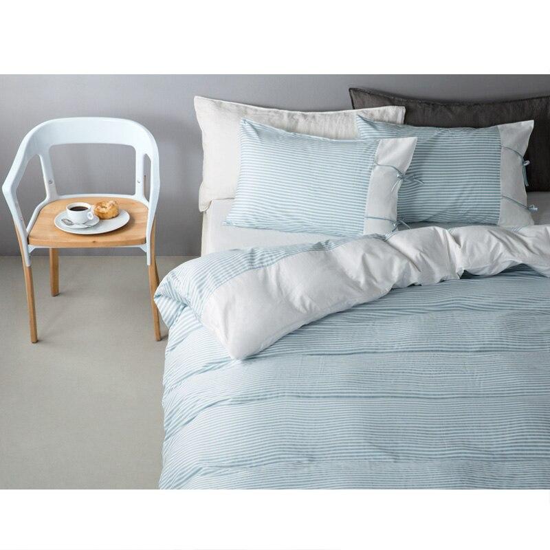 brand algodn a rayas patchwork arco nia cmoda cama ropa de cama conjunto sbana funda