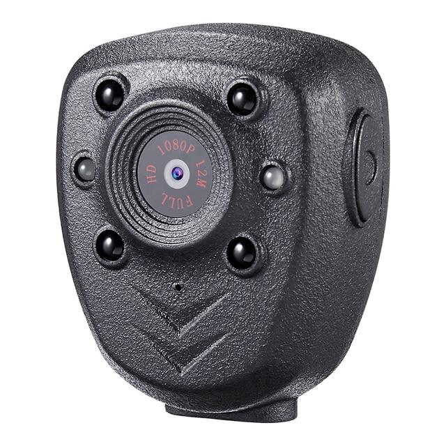 HD 1080 P משטרת גוף דש וידאו מצלמה DVR IR הלילה גלוי LED אור מצלמת 4 שעה שיא דיגיטלי מיני DV מקליט קול 1