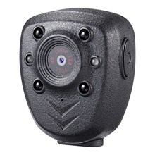 HD 1080P Police Body Lapel Worn Video Camera DVR IR Night Visible LED Light Cam 4-hour Record Digital Mini DV Recorder Voice 1