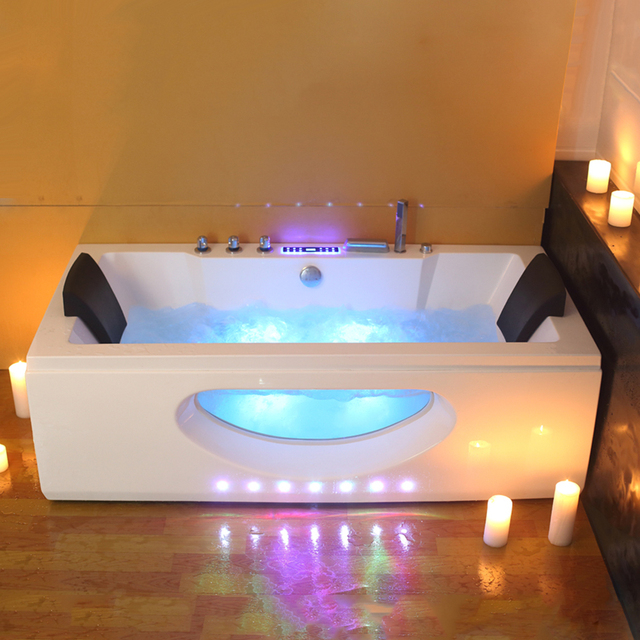 6132 1700mm whirlpool bath piscine shower massage bathtub spa