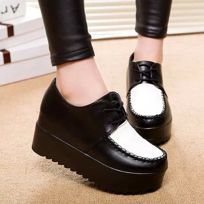 Women Shoes Slip On Creepers Flats Loafers dropship Ballerina Comfort Casual Ladies