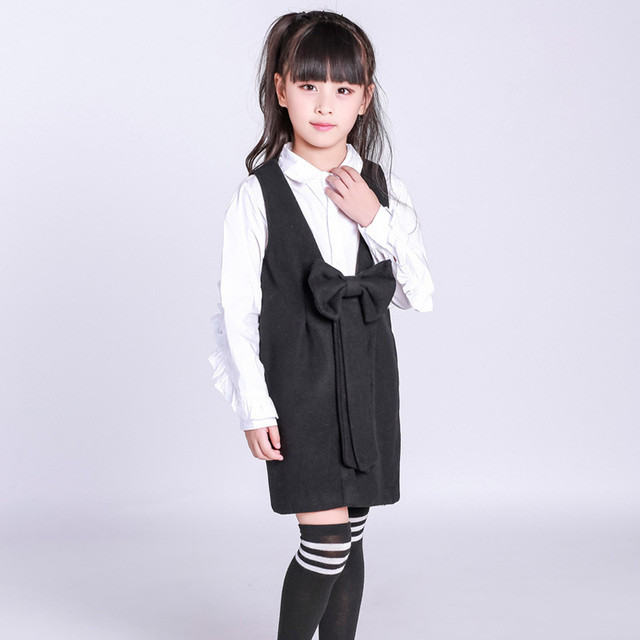c6e17e6bf Girls braces dress 2017 autumn spring casual clothes new fashion brand children's  clothing for 2 3 4 5 6 7 8 9 10 years old kids
