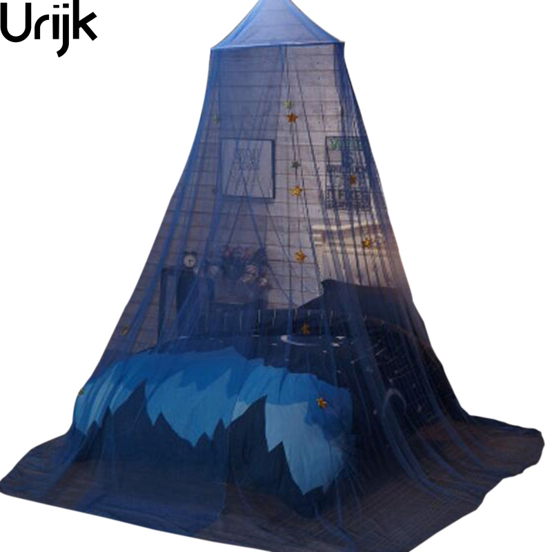 Urijk Elegant Hung Dome Mosquito Nets Bed For Summer Star Mesh Fabric Home Textile Accessories Supplies Product Home Decorative