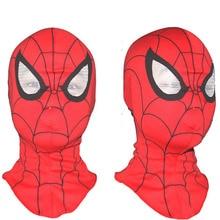 1pcs Super Cool Spiderman Mask Cosplay Hood  Masks  Full Head Halloween Masks
