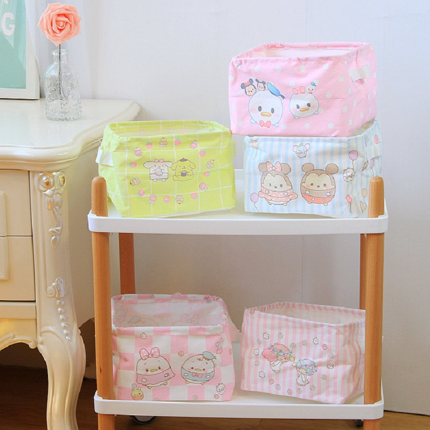 Cute Animal Collapsible Toy Storage Organizer Folding: New Cute Cartoon Animal Receiving Box Kids Toy For Office