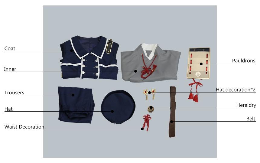 Touken Ranbu Hakusan Yoshimitsu Cosplay Costume COSPLAYONSEN full set Hot New