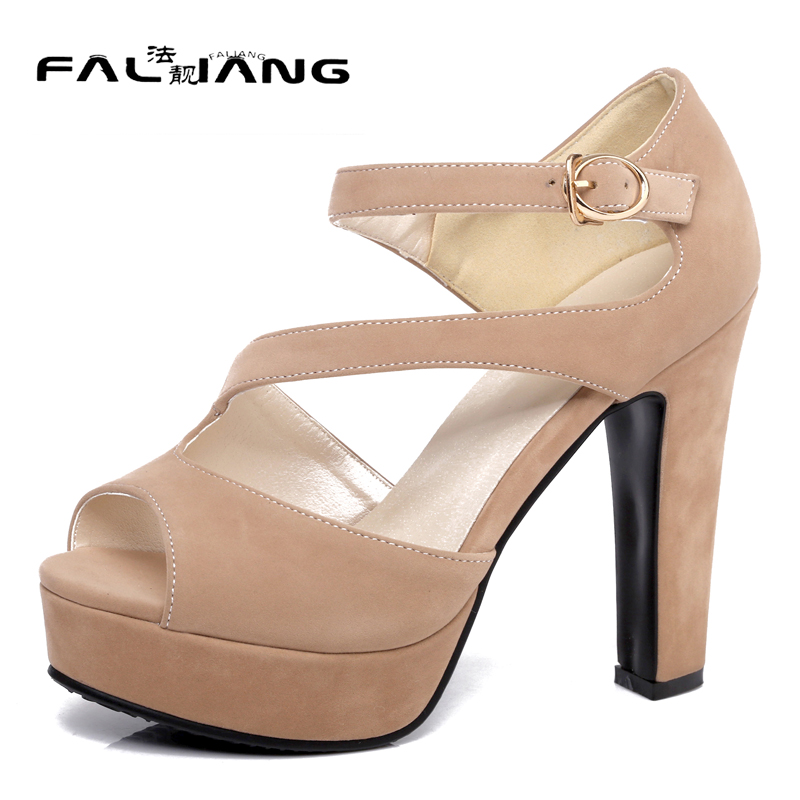 Gladiator New arrival Big Size 11 12 women shoes Flowers woman Solid ladies womens Platform Peep Toe Summer high heel sandals 2017 new spring autumn big size 11 12 dress sweet wedges women shoes pointed toe woman ladies womens