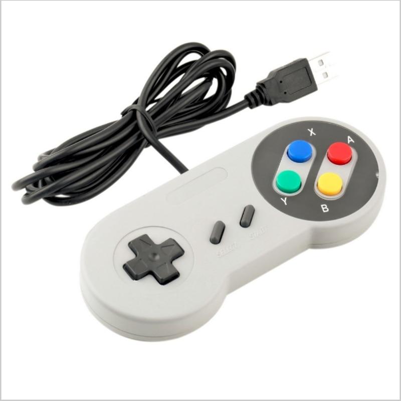 2018 USB Controller Gaming Joystick Gamepad Controller for Nintendo SNES Game pad for Windows PC MAC Computer Control Joystick