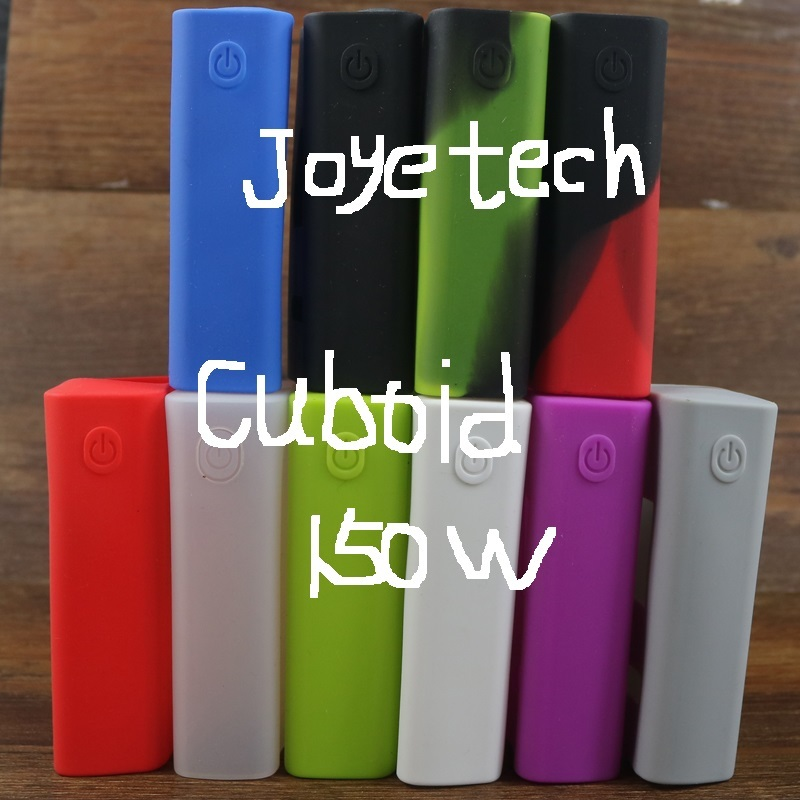 Silicone Sleeve Case For Authenic Cuboid 150W TC Box Mod Rubber Skin Cover