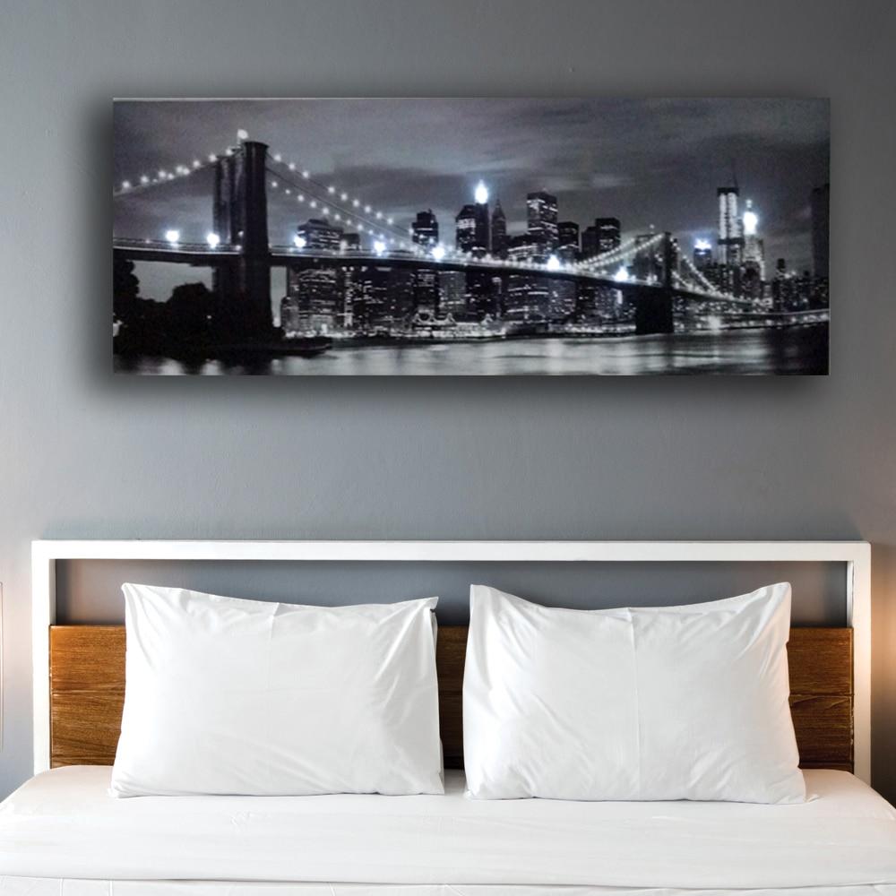 Wall Canvas Lights Art