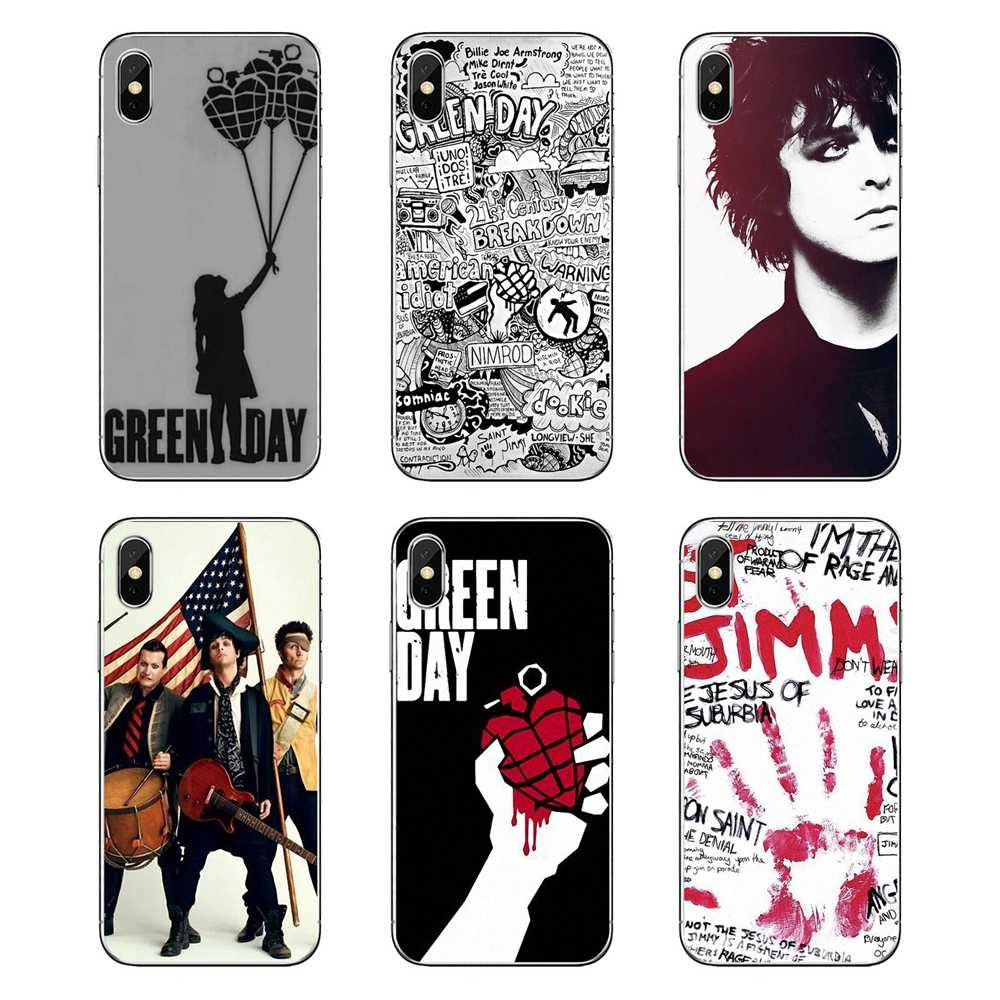 Soft Case untuk IPod Touch iPhone 4 4 S 5 5 S 5 5C Se 6 6 S 7 8 X xr X Plus MAX Coldplay Green Day Rock Abigail Armstrong Punk Band