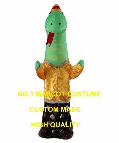 Aliexpresscom Comprar Serpiente verde traje de la mascota de