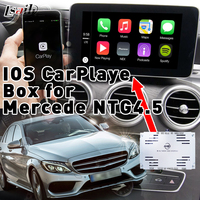 Plug & Play IOS CarPlaye Box for Benz C/E/A/B/ML/GLK with ntg4.5 with Bluetooth Youtue Siri Command , Steering Wheel Control