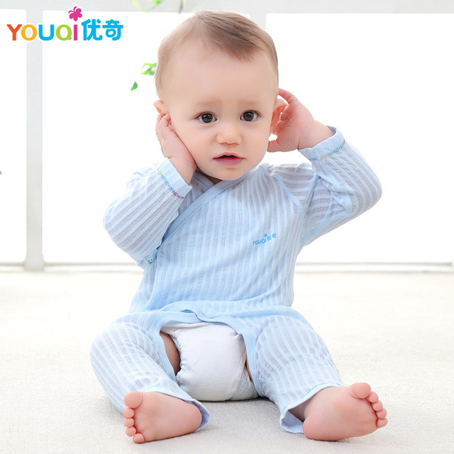 bd718ea94562 YOUQI Newborn Baby Clothes Cotton Cute Belt Rompers 3 6 9 Months Baby Girl  Boy Clothes Summer Brand Infantil Clothing Costumes