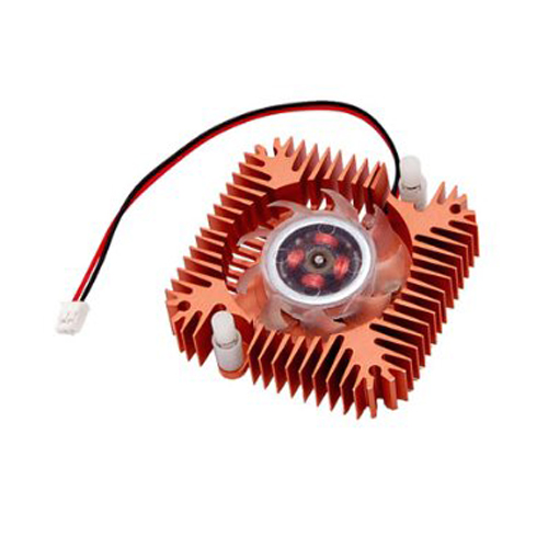 CAA-Hot PC Laptop CPU VGA Video Card 55mm Cooler Cooling Fan Heatsink qqv6 aluminum alloy 11 blade cooling fan for graphics card silver 12cm