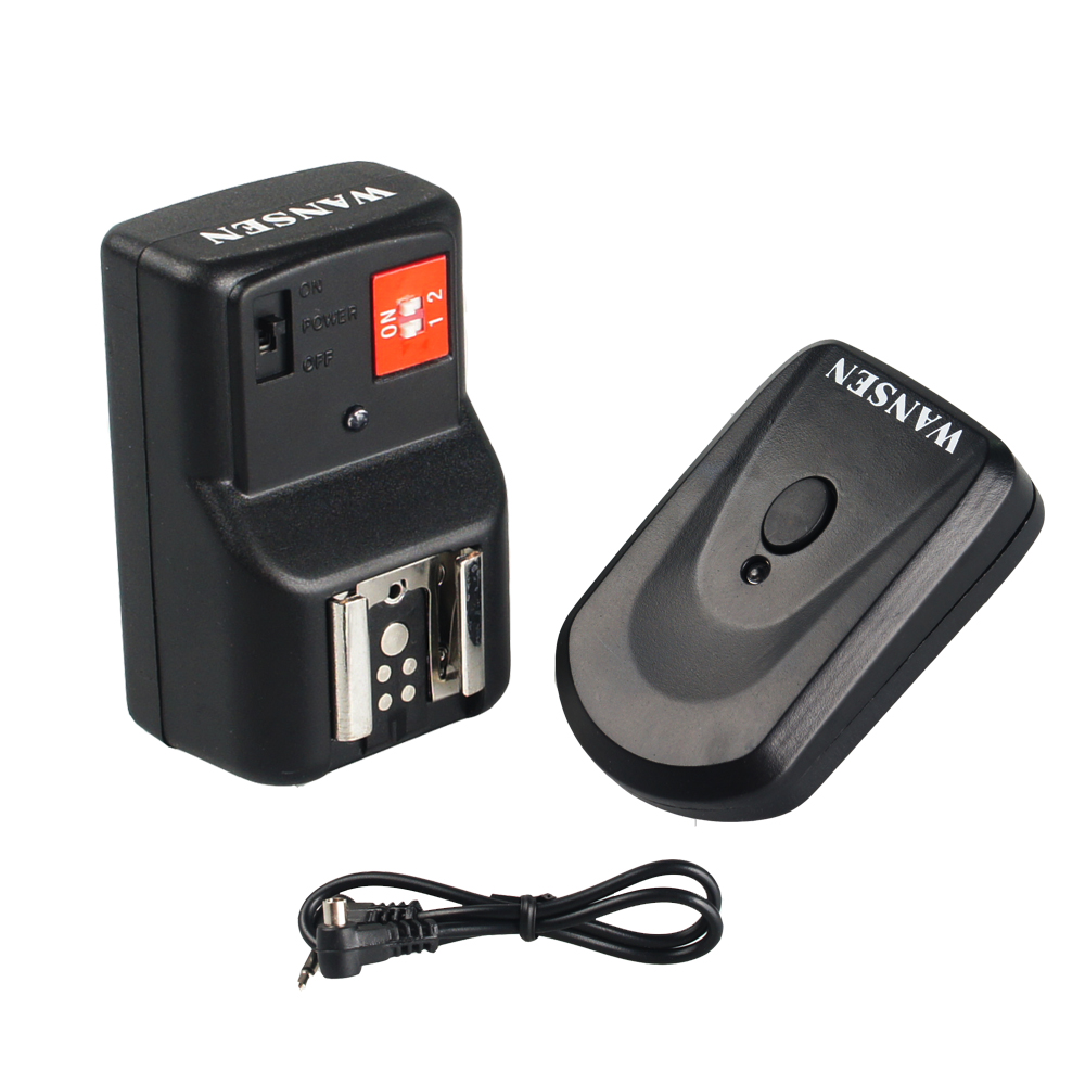 Wansen PT-04GY 4 canales inalámbrico remoto Speedlite Flash Trigger - Cámara y foto - foto 5