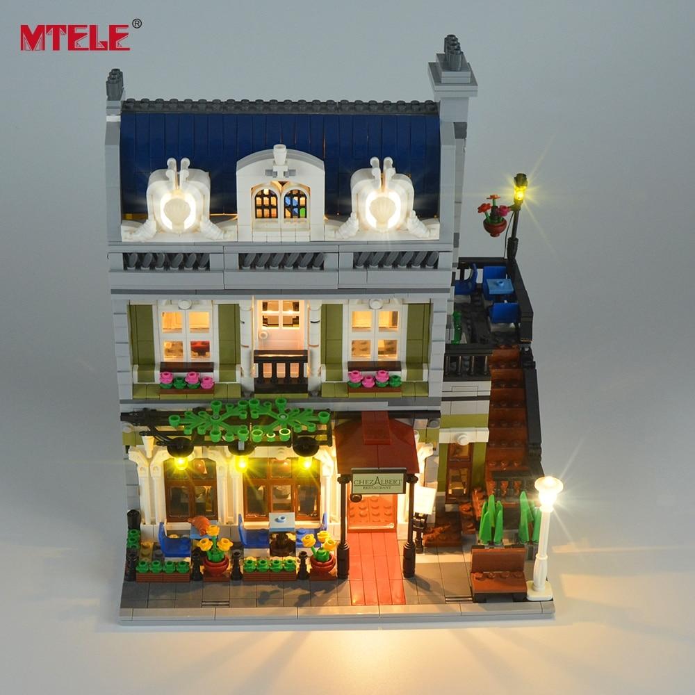 MteLE marca led light up kit toy para criador perito cidade rua luz - Designers e brinquedos de construção - Foto 5