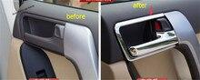 Yimaautoпланки внутренняя дверная ручка чаша крышка отделка для Toyota Land Cruiser Prado FJ150 2014 2015 2016 2017 ABS интерьерные молдинги