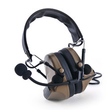 COMTAC II Silicone TAC-SKY earmuff version Noise reduction pickup headset -FG Outdoor Anti-noise Impact Sound