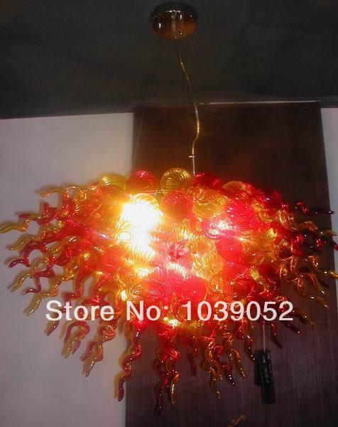 Fancy design murano hand blown glass chandelier light BGC2073 in Chandeliers from Lights Lighting