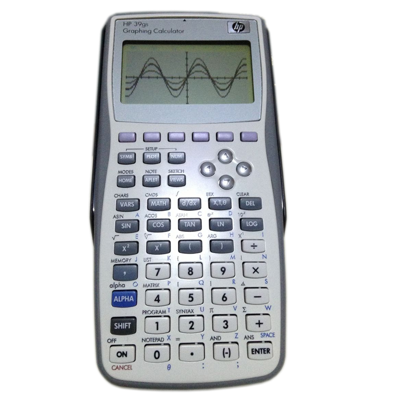 Free shipping 1 Piece New Original Calculator Graphic for 39gs Graphics Calculator teach SAT AP test for 39gs 18x9x3cm