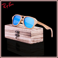 2017 new produtos de moda das mulheres dos homens de madeira de vidro uv400 lente polarizada óculos de sol de madeira retro moldura de madeira feitos à mão frete grátis
