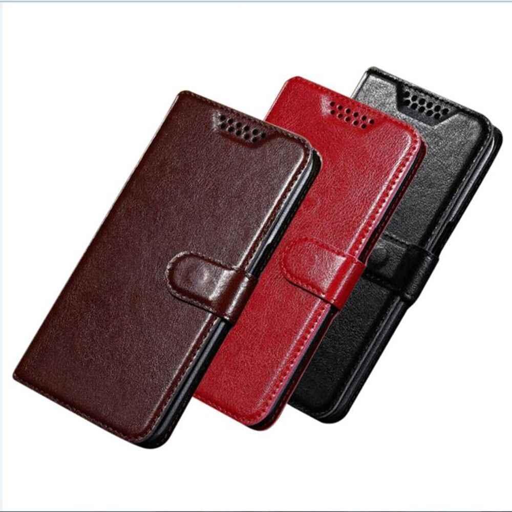 หนัง PU + กระเป๋าสตางค์สำหรับ Irbis SP510 SP455 SP454 SP514 SP511 SP453 SP401 SP57 SP21 SP20 SP06/ SP43 Flip ป้องกันกรณี