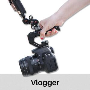 Image 3 - VLOGGER VIPER Scharnierende Magic Arm 360 Graden 6KG Laadvermogen Aluminium 1/4 Schroef Veld Monitoren Mount voor Sony A7 A6400 dslrs