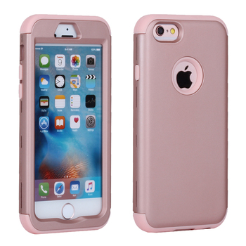 For iPhone 6 Case Silicone & Plastic Hard Cover iPhone 6 6S Plus Case With Rubber TPU Coque For iPhone6 Plus 6 S iphone 6
