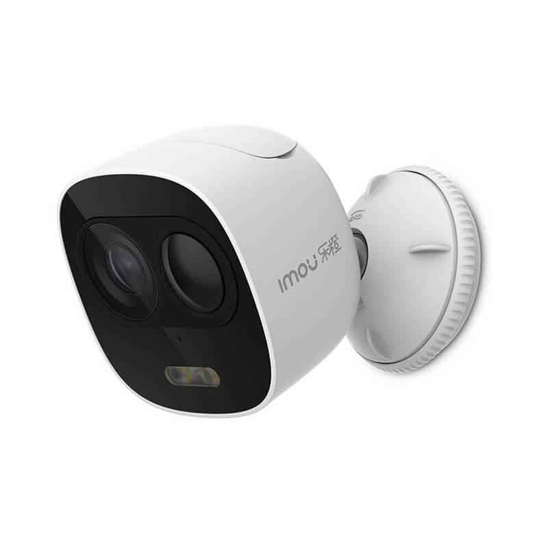 Dahua HD1080P Wireless IP Camera P2P White Light Alarm Motion Detected Waterproof WiFi Camera With 128G SD Card Slot H.265