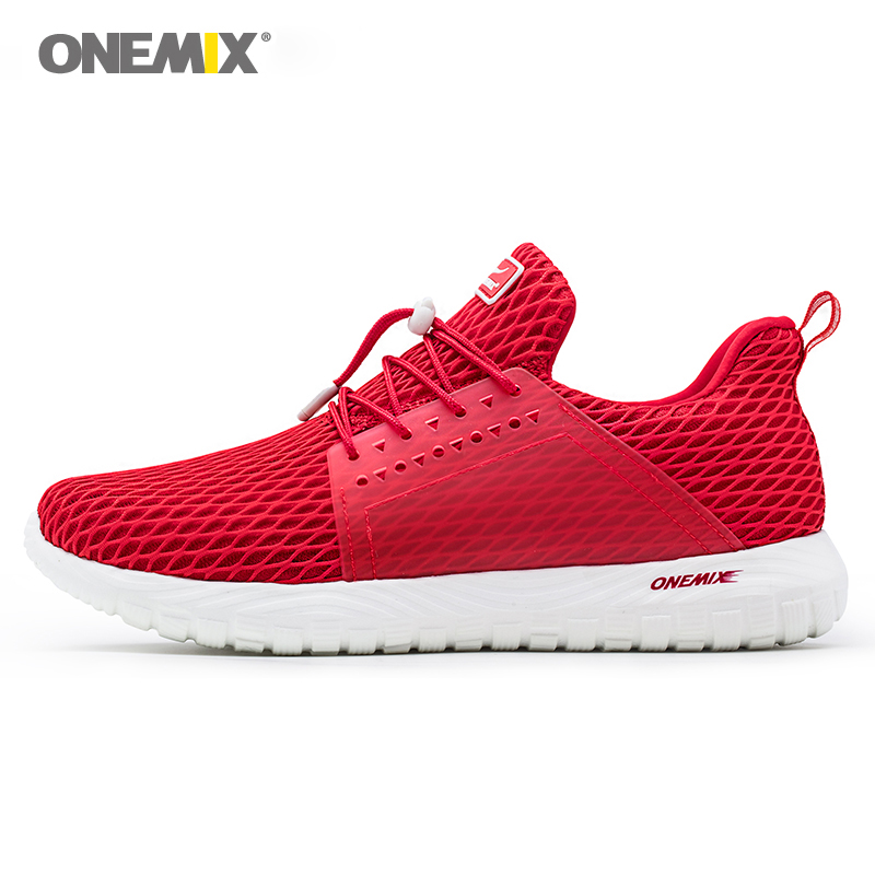 onemix light sport sneakers for men running shoes breathable unisex walking sneakers black jogging elastic outsole athletic shoe 2017brand sport mesh men running shoes athletic sneakers air breath increased within zapatillas deportivas trainers couple shoes