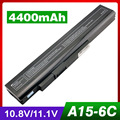4400mAh laptop battery for TOSHIBA Dynabook A9 Satellite A10 A15 Qosmio E15 F15 G15 G25 Tecra A1 A8 PA3284U-1BAS PA3285U-1BRS