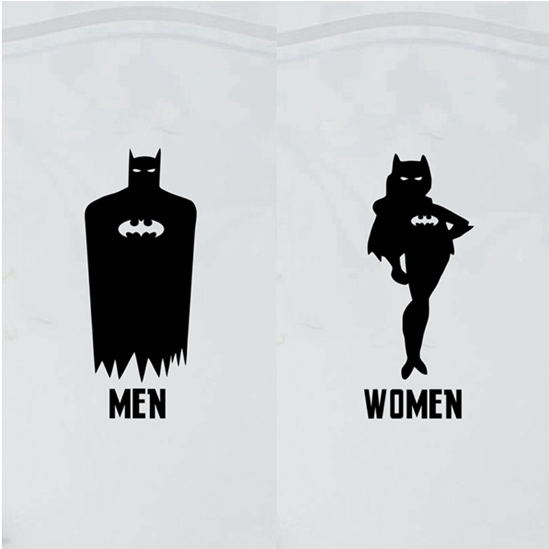 Batman Bathroom Sign: Compare Prices On Toilet Cartoon- Online Shopping/Buy Low