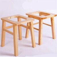 Деревянные бытовые горшок простой подвижного стариков и беременная женщина стул, комод укрепление Нескользящие горшок