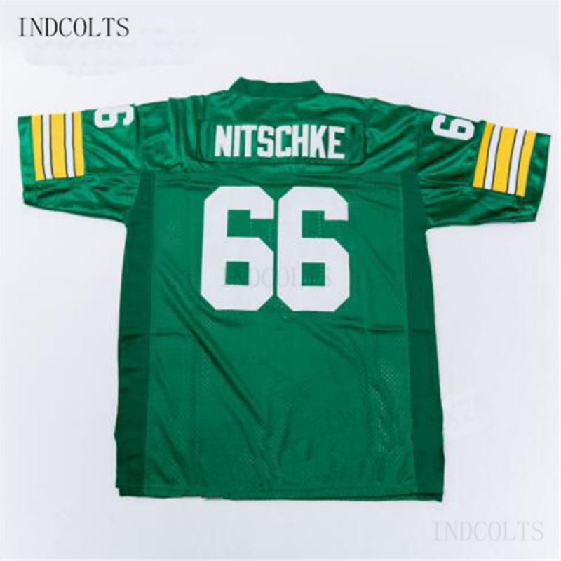 sports shoes 8e0d1 03e13 Throwback #66 Ray Nitschke Embroidered Retro star Football Jersey free  shipping INDCOLTS-in America Football Jerseys from Sports & Entertainment  on ...