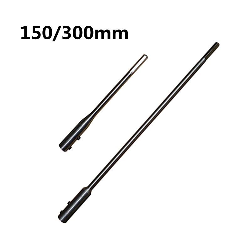 Urijk 1Piece 150/300mm Fit For Flat Drill Bit Deep Hole Hex Electric Drill Screwdriver Bit Extention Rod Connect Rod Hot Sale new 50mm wall hole saw drill bit set 200mm connecting rod with wrench mayitr for concrete cement stone