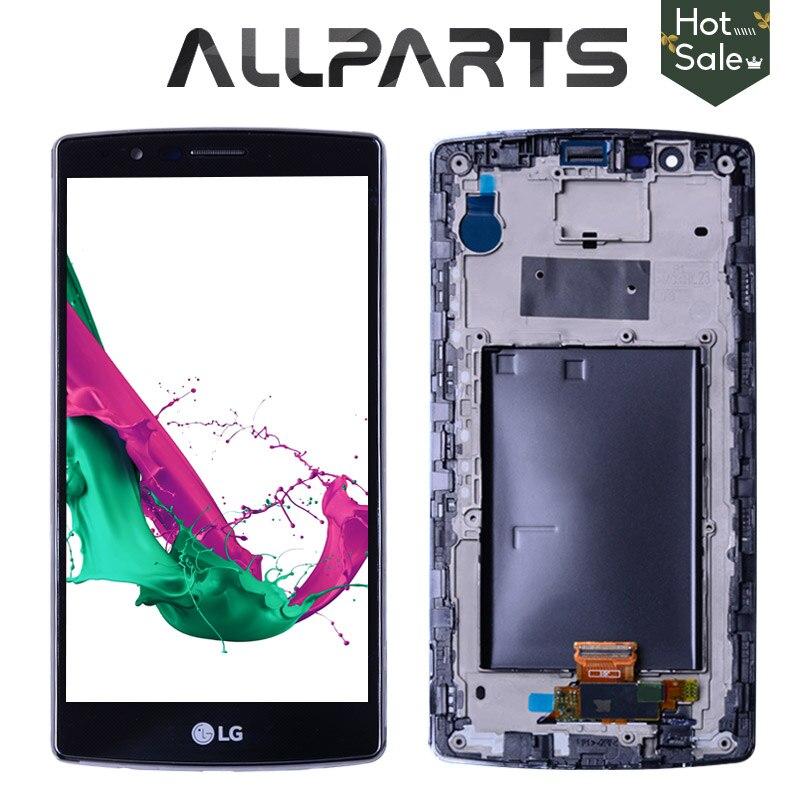 Double SIM 5.5 2560x1440 Écran D'affichage Pour LG G4 H818 Écran lcd Tactile et Digitizer H818P pour LG G4 Écran Replacment