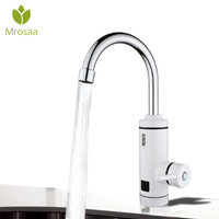 3000W Instant Tankless Water Tap Electric Water Heater Bathroom Kitchen Instant Heating Tap Fast Heat Electric Faucet AU Plug