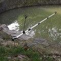Новый держатель для удочки  держатель для удочки  регулируемый угол  телескопический инструмент для рыбалки  ручной держатель для удочки