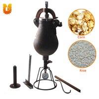 1.5kg/time Hand Popcorn Maker Corn Maize Popping Machine Rice Puffed Machine/Popcorn Popper