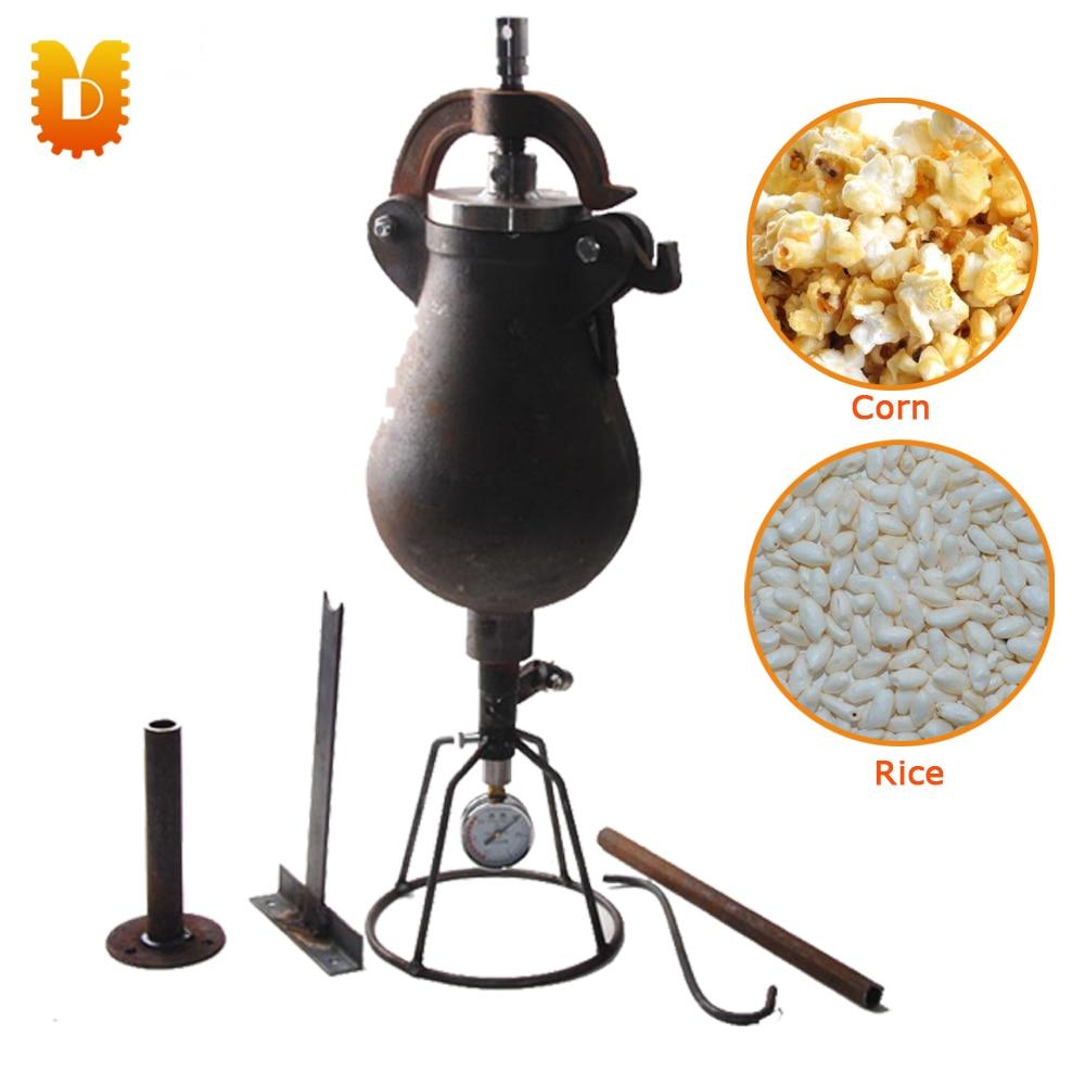 1.5kg/time Hand Popcorn Maker Corn Maize-Popping Machine Rice Puffed Machine popcorn hour с 200
