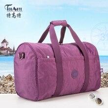 TEGAOTE 2016 Nylon Waterproof Kiple Travel Bags Large Capacity Women Luggage Travel Duffle Bags Travel Handbags 282